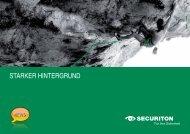 Starker Hintergrund - Securiton GmbH