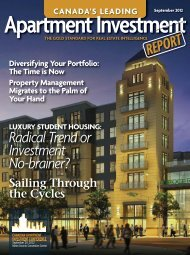 CAIR Fall 2012 Magazine_! REF Win08 Toronto - Real Estate Forums