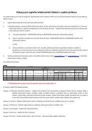 Pokyny pro vyplnění elektronické žádosti o vydání průkazu - SŽDC