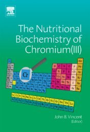 The Nutritional Biochemistry of Chromium(III) - Survival-training.info