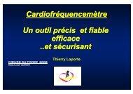 Fréquence Cardiaque - Club des Cardiologues du Sport