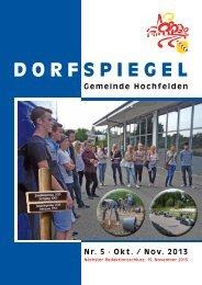 4 Oktober/ November 2013 - Gemeinde Hochfelden
