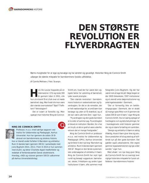 DEN STØRSTE REVOLUTION ER FLYVERDRAGTEN - Bupl