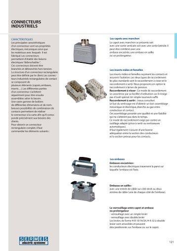Connecteurs industriels - SERMES