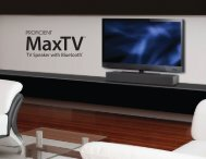 MaxTV - Proficient Audio Systems