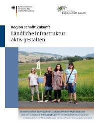 Region schafft Zukunft – Ländliche Infrastruktur aktiv gestalten