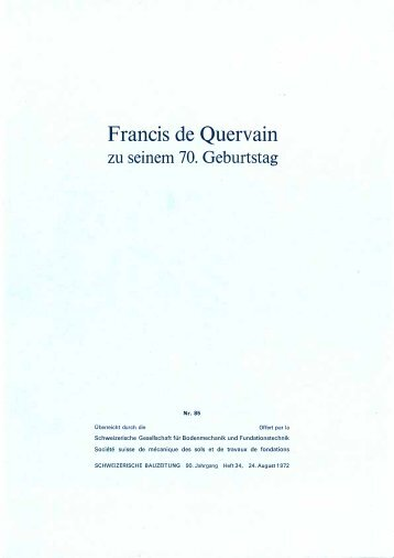 Francis de Quervain