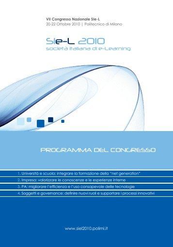 Programma ii facolt di architettura politecnico di milano for Programma di architettura