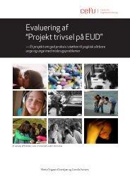 """Evaluering af """"Projekt trivsel på EUD"""" - Center for Ungdomsforskning"""
