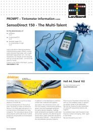 SensoDirect 150 - The Multi-Talent