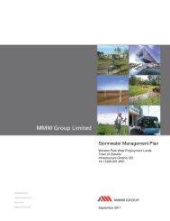 Stormwater Management Plan - Oakville