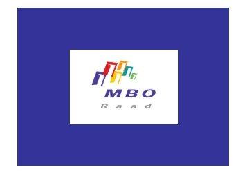 Scholing - MBO Raad