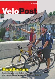 Lokales - IG VELO im Landkreis Lörrach