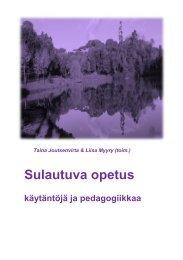 SULAUTUVA OPETUS - Blogipalvelut - Helsinki.fi