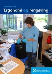 Ergonomi og rengøring - BAR - service og tjenesteydelser.