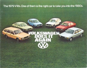 1979 VW Full Line Brochure - PDF - TheSamba.com