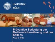 Muttermilchernährung/Stillen vom 16.07.2013