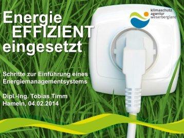 Dorfmuseum Tündern Energiekonzept - Klimaschutzagentur ...