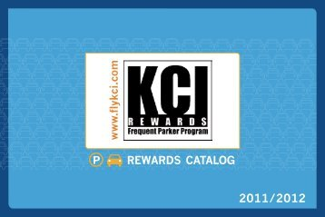 2011/2012 REWARDS CATALOG - Kansas City International Airport