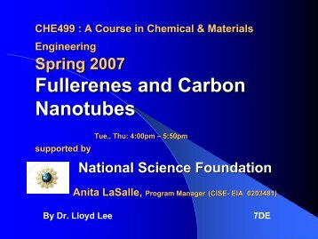 Fullerenes and Carbon Nanotubes