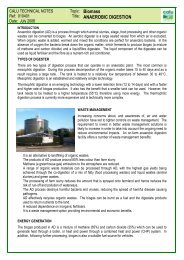 Anaerobic digestion - Centre for Alternative Land Use (CALU)