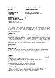 ANÁLISIS DE DATOS - Cicese