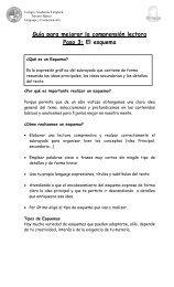 Guía para mejorar la comprensión lectora Paso 3: El ... - Srta. Ale 2011