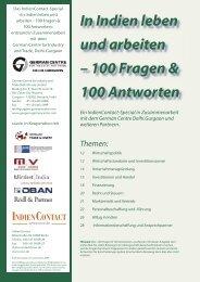 100 Fragen & 100 Antworten - German Centre Delhi.Gurgaon