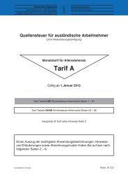 Tarif A, Erläuterungen und Hinweise, S. 1 - 6 ... - Steuern St. Gallen