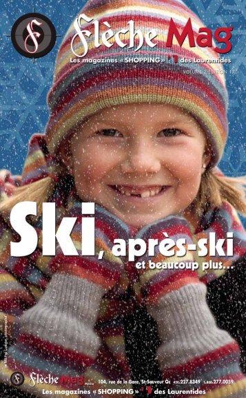 Les magazines « SHOPPING » des Laurentides - Flèche Mag