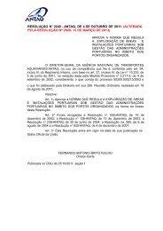 alterada pela resolução nº 2826, 12 de março de 2013 - Antaq