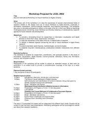 Workshop Proposal for JCDL 2002