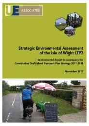 Environmental Report - Isle of Wight Council