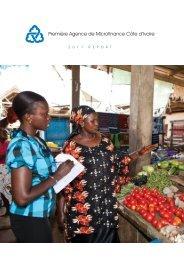 Première Agence de Microfinance Côte d'Ivoire