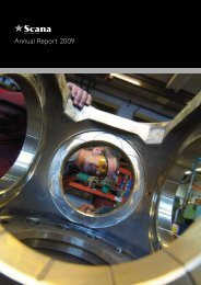 Annual Report 2009 - Scana Industrier ASA
