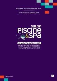 8-16 DÉCEMBRE 2012 Paris - Porte de Versailles