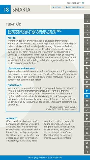 18 SMÄRTA - Vgregion.se
