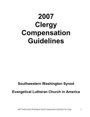 2007 Clergy Compensation Guidelines - Southwestern Washington ...