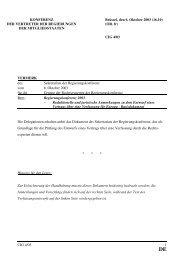 DE - Rat der Europäischen Union - Europa