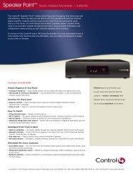 Speaker Point.indd - Bobo Technologies