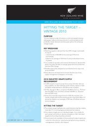 NZVIT101 Hitting vintage targets - New Zealand Wine