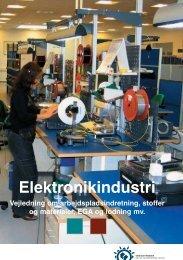 Vejledning om elektronikarbejdspladser - Industriens ...