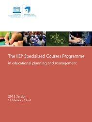 Download - IIEP - Unesco