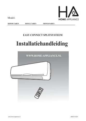 Installatie handleiding - Solar