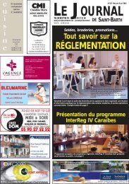 822 - Journal de Saint Barth