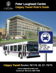 Peter Lougheed Centre - Calgary Transit