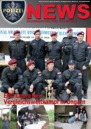 EKO Cobra bei Vergleichswettkampf in Ungarn - FSG GÖED Salzburg