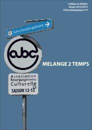 Mélange 2 temps - Arts & Culture