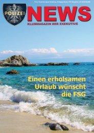 Polizei News 2-2009 - FSG GÖED Salzburg