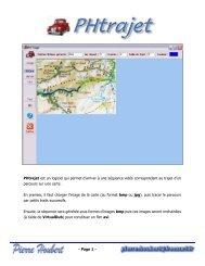 Page 1 - PHtrajet est un logiciel qui permet d'arriver à une séquence ...